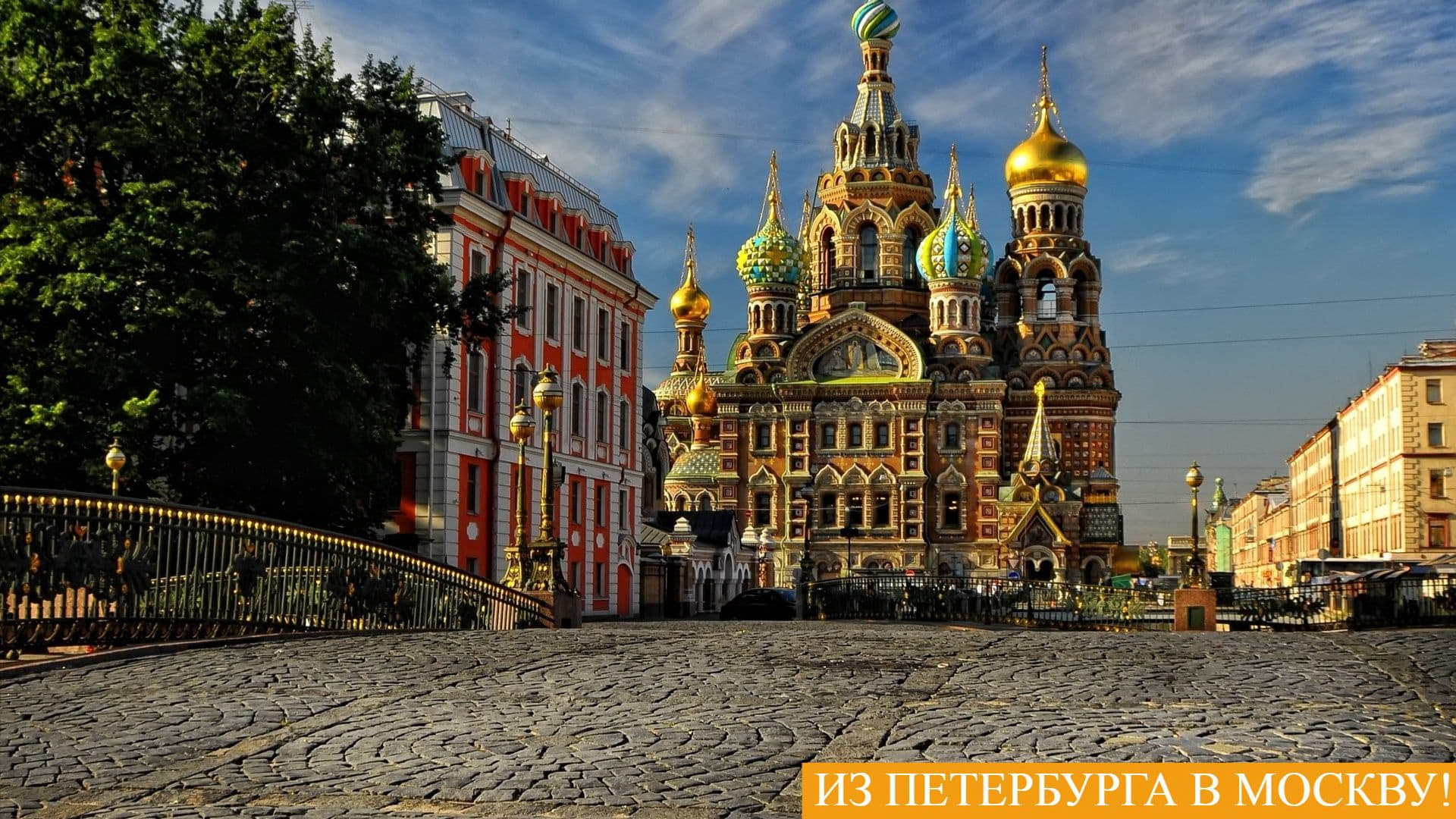 Из Петербурга в Москву!